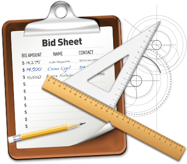 Download Bid Sheet Templates