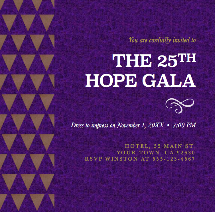 Classy Gala_save the date
