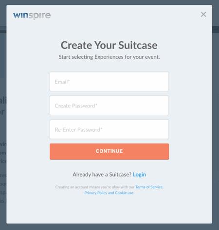 Create suitcase