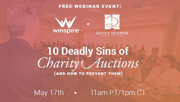10 Deadly Sins of Charity Auctions