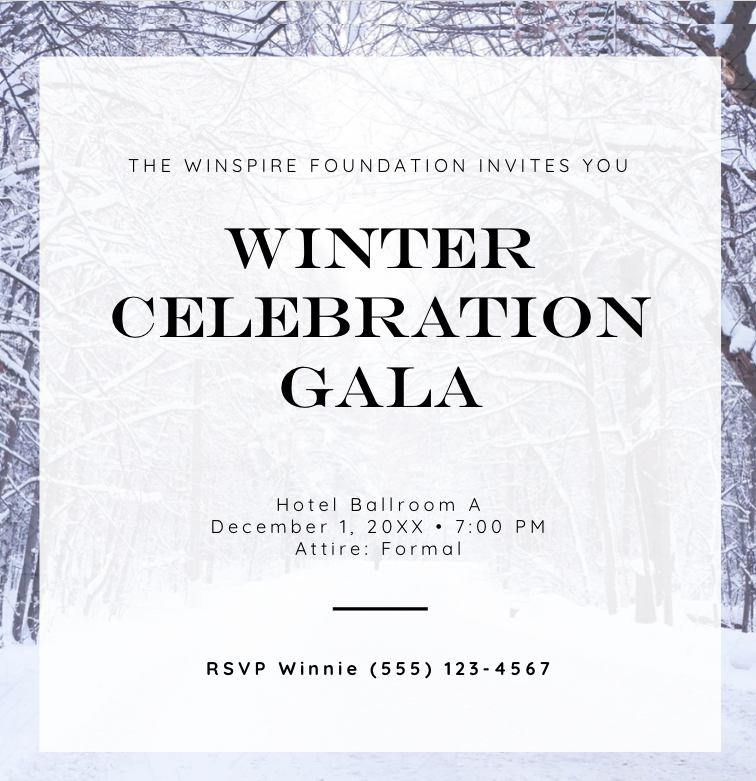 Winter Gala_save the date